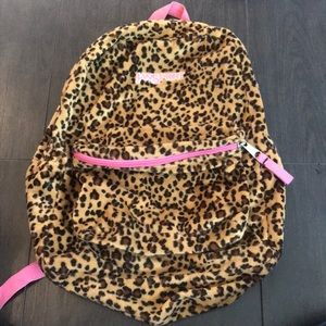 Cheetah Print Jansport Backpack